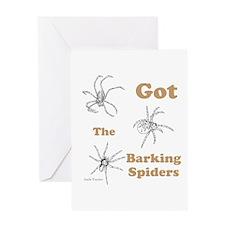Barking Spider 01 Greeting Card