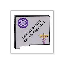 Los Alamos Alien Life Support Sticker