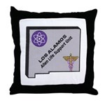 Los Alamos Alien Life Support Throw Pillow