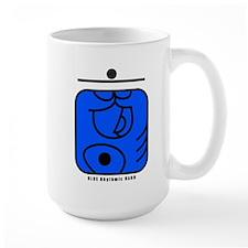 BLUE Rhythmic HAND Mug