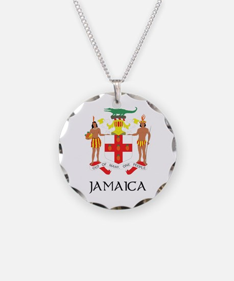 Coat of Arms of Jamaica Necklace