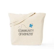 Cute Community organizer Tote Bag