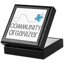 Cute Community organizer Keepsake Box