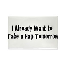 Need a Nap Rectangle Magnet (10 pack)