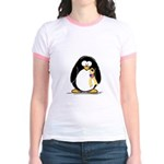 Support Troops Penguin Jr. Ringer T-Shirt