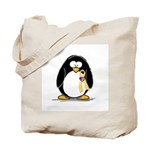 Support Troops Penguin Tote Bag