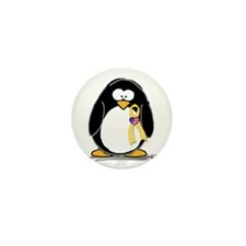 Support Troops Penguin Mini Button (10 pack)