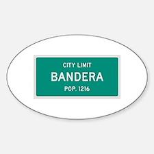 Bandera, Texas City Limits Decal