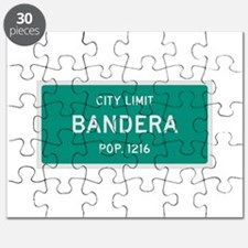 Bandera, Texas City Limits Puzzle