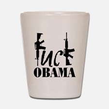 Fuck Obama Shot Glass
