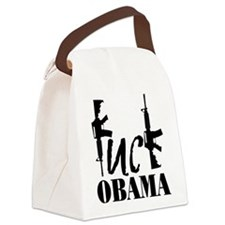 Fuck Obama Canvas Lunch Bag