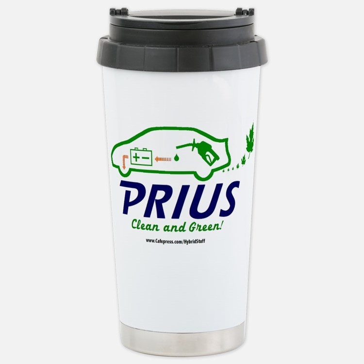 Cute Prius owner Travel Mug