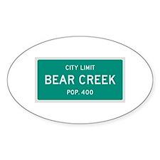 Bear Creek, Texas City Limits Decal