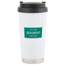 Beaumont, Texas City Limits Travel Mug