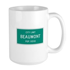 Beaumont, Texas City Limits Mug
