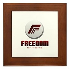 Freedom For Firearms Framed Tile