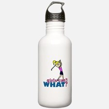 Girl Playing Golf Water Bottle