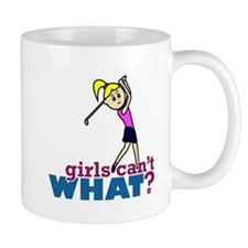 Girl Playing Golf Mug
