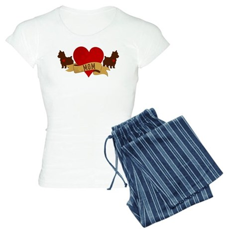 Yorkie Mom Women's Light Pajamas