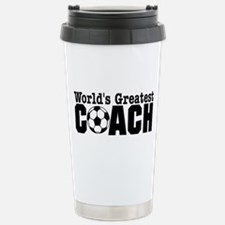 Funny Worlds bet soccer coach Travel Mug