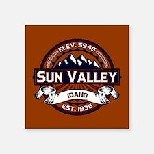 """Sun Valley Vibrant Square Sticker 3"""" x 3"""""""