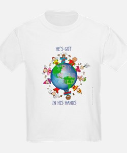 Hes Got the Whole World in His Hands T-Shirt