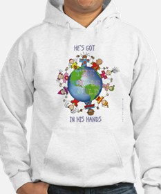 Hes Got the Whole World in His Hands Hoodie