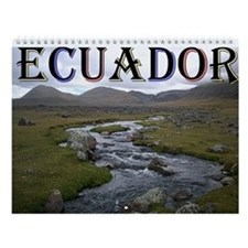 Funny Ecuador Wall Calendar