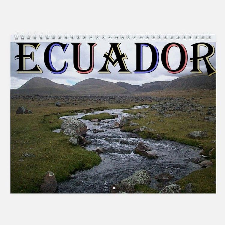 Cute Ecuador Wall Calendar