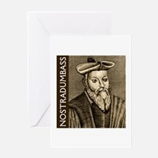 Nostradumbass Greeting Card