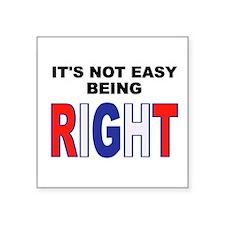 RIGHT Sticker
