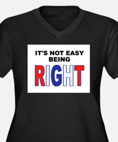 RIGHT Plus Size T-Shirt