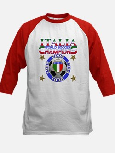 Italia World Soccer Champs Kids Baseball Jersey