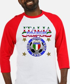 Italia World Soccer Champs Baseball Jersey