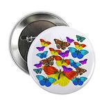 """BUTTERFLIES, BUTTERFLIES! 2.25"""" Button (100 pack)"""
