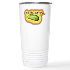 everythingsjewishtshirt.png Travel Mug