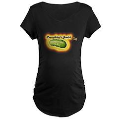 everythingsjewishtshirt.png Maternity T-Shirt