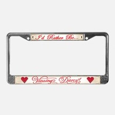 I'd...Viewing Darcy License Plate Frame