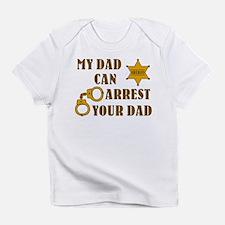 Unique Baby sheriff Infant T-Shirt