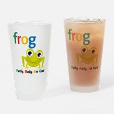 F.R.O.G. Drinking Glass