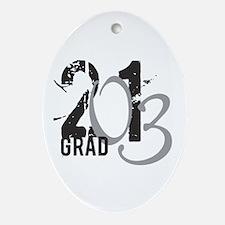 2013 Graduate Ornament (Oval)