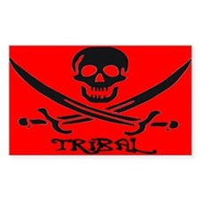 TOXIC PIRATE Rectangle Decal
