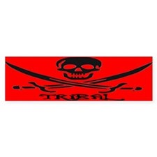 TOXIC PIRATE Bumper Bumper Sticker