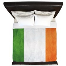 Irish Flag King Duvet