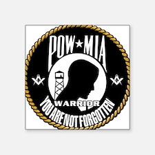 POW/MIA Masonic Sticker