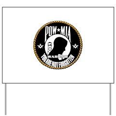 POW/MIA Masonic Yard Sign