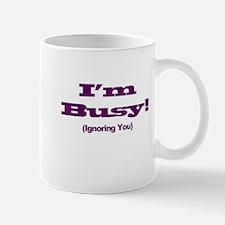 I'm Busy - Purple Mug