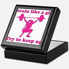 Train Like a Girl Keepsake Box