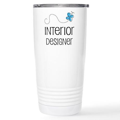 Cute Interior Designer Stainless Steel Travel Mug By