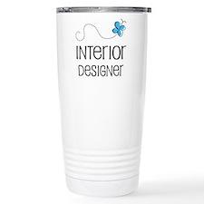 Cute Interior designer Travel Coffee Mug
